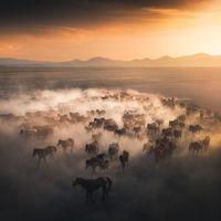 La magia del paisaje capturada en las bellas imágenes de Cuma Cevik, un fotógrafo que estudiaba para ser pintor