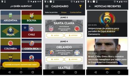 Copa America Centenario App