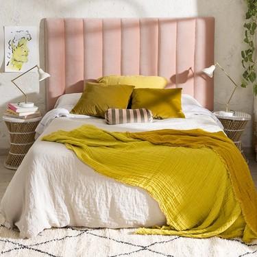 Tendencia en el dormitorio; los plaids o cubrecamas de lino son un must esta temporada