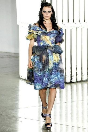 Rodarte Primavera-Verano 2012: jugando a ser Van Gogh