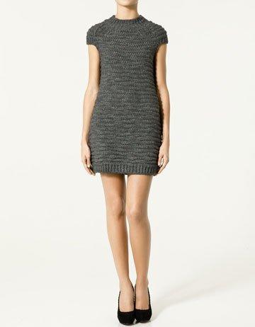 Rebajas 2011: Zara vestidos de punto