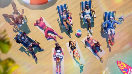 Desafío Fortnite: dónde conseguir el Fortbyte 40 con el traje Demi en un reloj de sol en el desierto. Solución