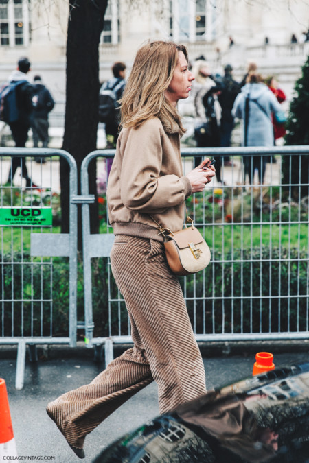 Pfw Paris Fashion Week Fall 2016 Street Style Collage Vintage Chloe 9