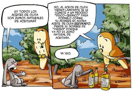 Piqui y Mandy, el aceite de oliva explicado a los niños