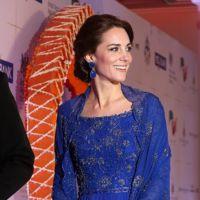 Kate Middleton como una actriz de Bollywood en Bombay