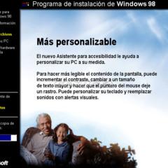 Foto 8 de 10 de la galería programa-de-instalacion-de-windows-98 en Genbeta