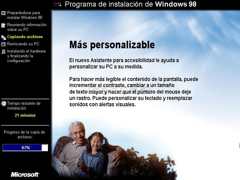 Foto de Programa de instalación de Windows 98 (8/10)
