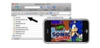 Sonic The Hedgehod para el iPhone es un emulador de Megadrive