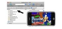 Sonic The Hedgehod para el iPhone es un emulador de Megadrive