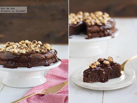 Tarta de Nutella de Nigella Lawson, receta sin gluten apta para celiacos