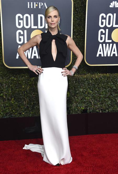 Globos De Oro 2019 Charlize Theron