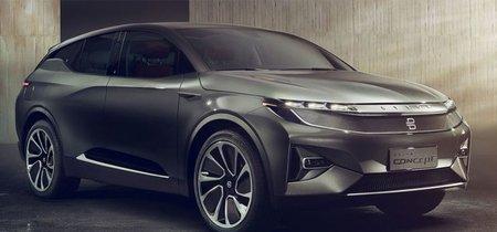 """Byton Concept, el coche con reconocimiento facial y pantalla de 49"""" que estará listo en 2019"""