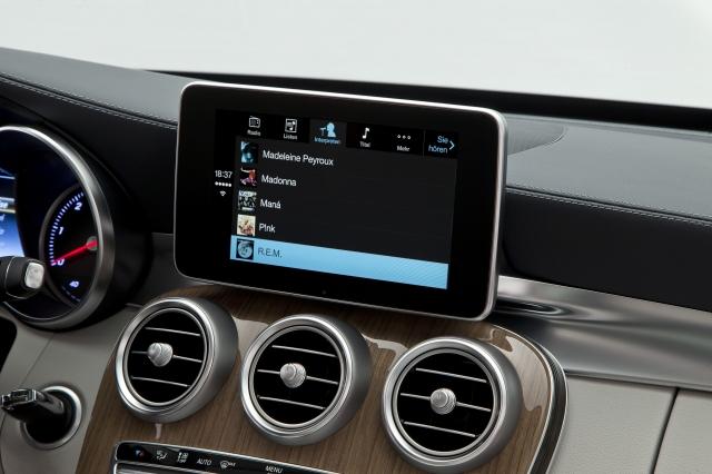 Foto de CarPlay Mercedes Benz Clase C (17/26)