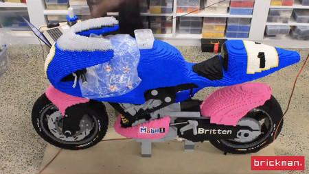 Britten V1000 Lego Escala Real Video