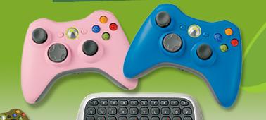 Xbox 360 mando rosa