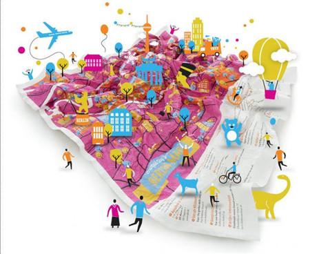 Crumpled City Junior: mapas que se pueden arrugar y guardar en la mochila tantas veces como quieran los niños
