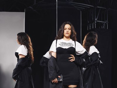 Rosalía y Dua Lipa captan todas las miradas del front row de Burberry con looks en blanco y negro