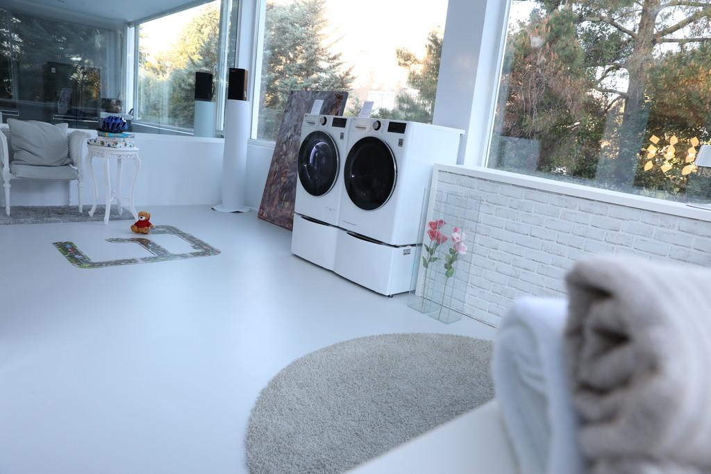 Las nuevas lavadoras de LG llegan a España: presumen de Inteligencia Artificial y posibilidad de realizar dos coladas a la vez