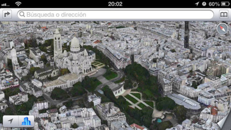 Flyover Paris, Sagrado Corazón en 3D