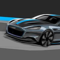 El Aston Martin RapidE contará con una batería de 800 voltios, como el Porsche Taycan