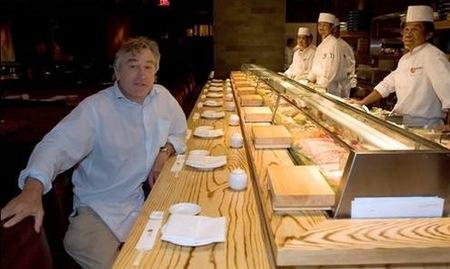Robert de Niro, inaugurador de restaurantes