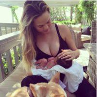 """Baby News: las fotos de la nena de Chrissy Teigen, del nene de Carlos de Suecia, Carmen """"Ojazos"""" Rivera y Behati tendrá una niña"""