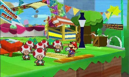 'Paper Mario: Sticker Star' nos volvió a recordar la grandeza de esta saga de papel. He aquí su mágico vídeo [E3 2012]