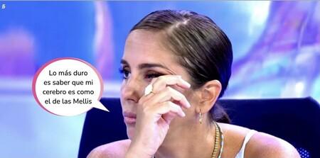 'Sálvame': La llorera de Anabel Pantoja al descubrir que su nivel de inteligencia es inferior a la media española