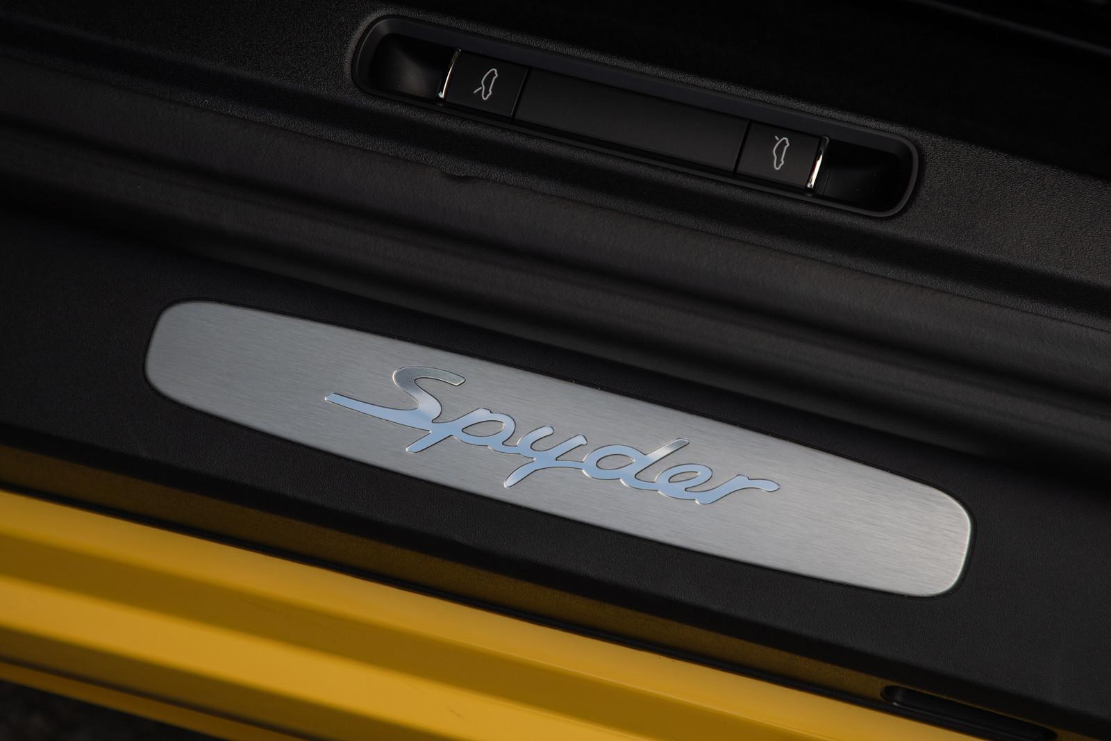 Foto de Porsche 718 Spyder (prueba contacto) (273/296)