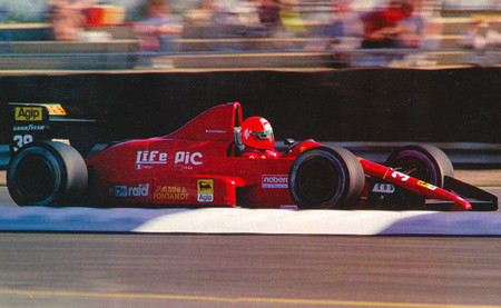 Bruno Giacomelli LIFE Silverstone