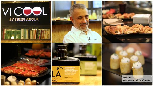 Sergi arola presenta un aceite de oliva virgen extra for Mejor aceite para cocinar