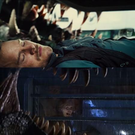 Jurassic World y Jurassic Park, dientes