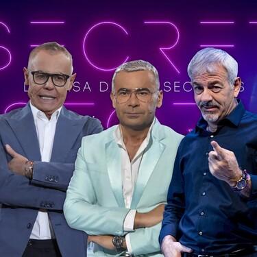 Trío de tíos (el de siempre): Jorge Javier Vázquez, Jordi González y Carlos Sobera presentarán 'Secret Story: la casa de los secretos'