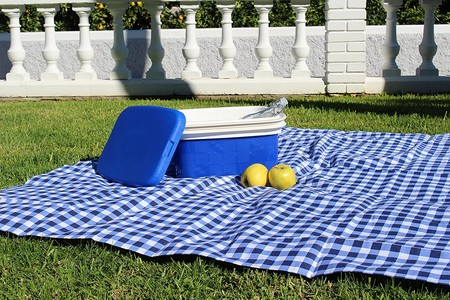 Ideal para camping y piscina: nevera de camping Campos en color azul de 10 litros por 10,90 euros en Amazon
