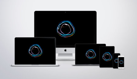 Viste tu dispositivo con el exclusivo wallpaper del nuevo MacBook