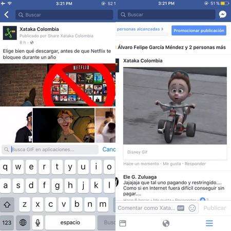 GIFS en Facebook