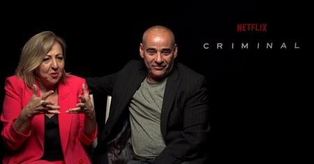 """Quien vea los primeros episodios de 'Criminal' no va a poder evitar ver el resto"". Carmen Machi"