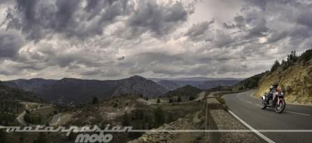La Honda CRF1000L Africa Twin y el Bajo Aragón: descubriendo la cara oculta del Gran Premio