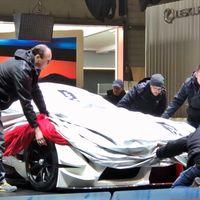 ¡Cazado! Este es el Supra que Toyota va a presentar en Ginebra insinuándose bajo una manta