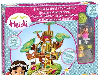 Si a tus peques les gusta Heidi tienes la casa del árbol de madera de Heidi por 21,85 euros en Amazon