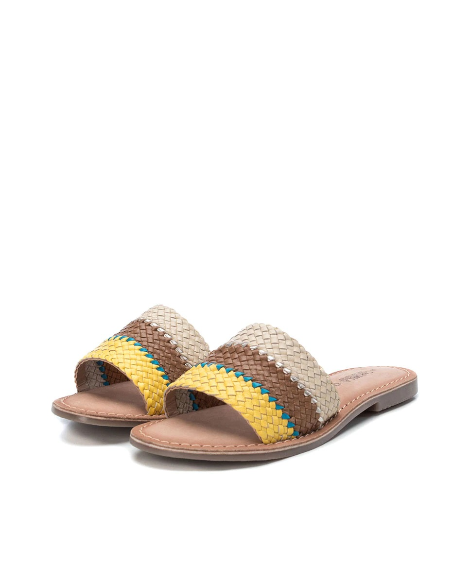 Sandalias pala trenzadas de Carmela Shoes