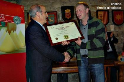 El queso Idiazábal D.O., galardonado en el Premio Roma 2008
