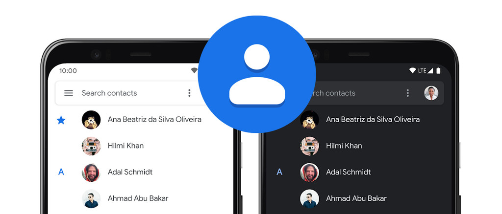 Google Contacts can now be synchronized with contacts stored on the phone thanks to its latest update