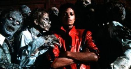 Homenaje de Thriller, de Michael Jackson, al estilo retro 8-bitero