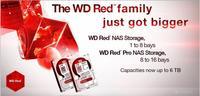 WD anuncia discos duros Red de hasta 6TB, variantes Pro para pymes