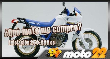 ¿Qué moto me compro? Iniciación 250-600cc, Honda NX 650 Dominator