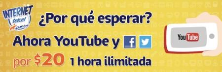 ¿YouTube por día o por hora? Así es el nuevo paquete 'Amigo Social + Video' de Telcel