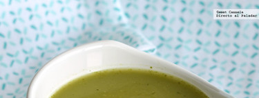 Sopa de cilantro y poblano. Receta sencilla y fácil