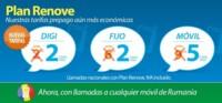 Digi mobil rebaja su tarifa prepago y los bonos de minutos podrán utilizarse para llamar a Rumanía