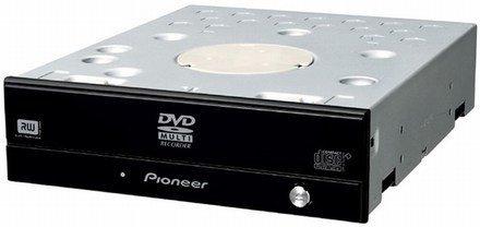 Grabadora Pioneer de DVD de doble capa